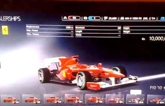 Ferrari F10 - Gran Turismo 5 Image