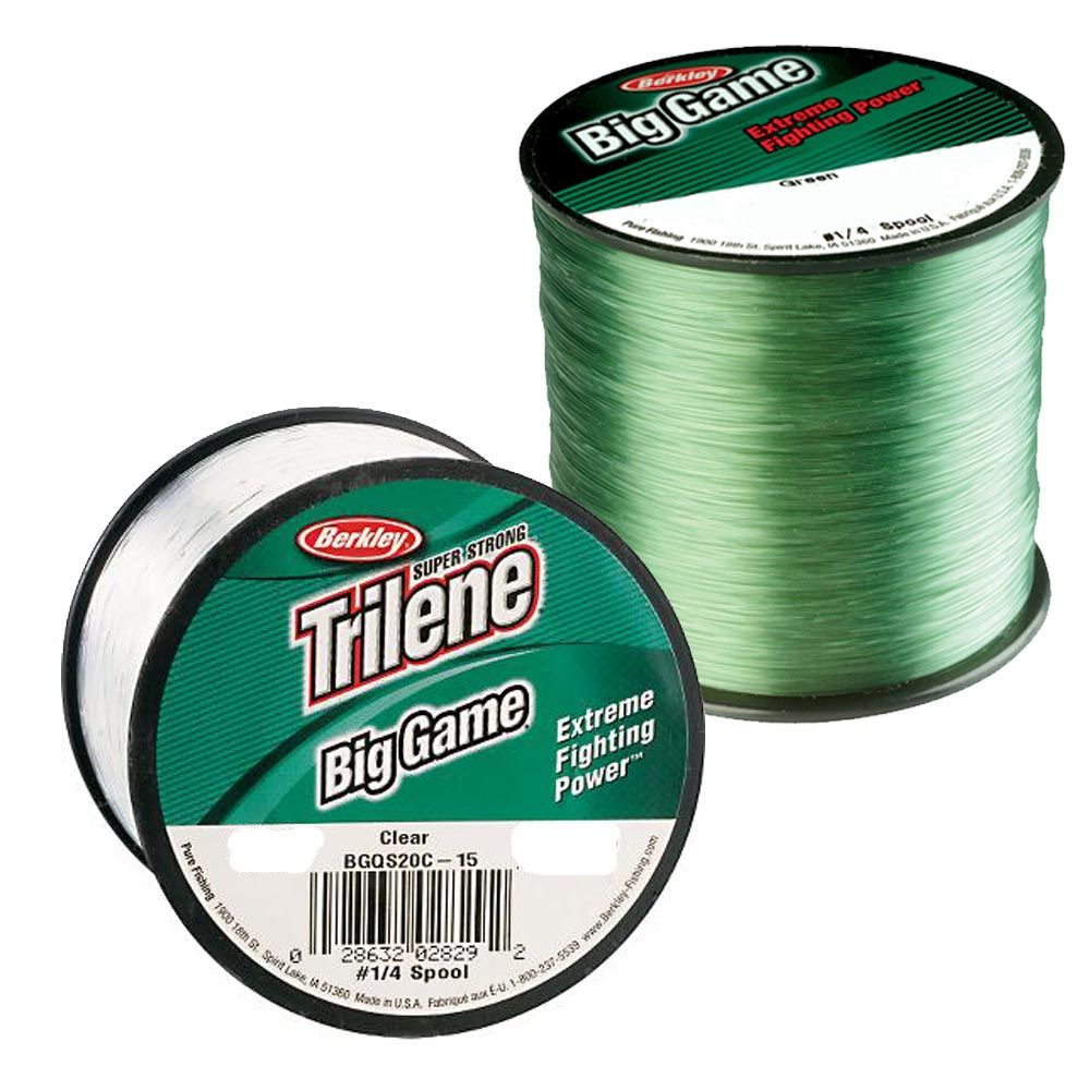 Berkley big game mono sea beach carp fishing line green or for Pline fishing line