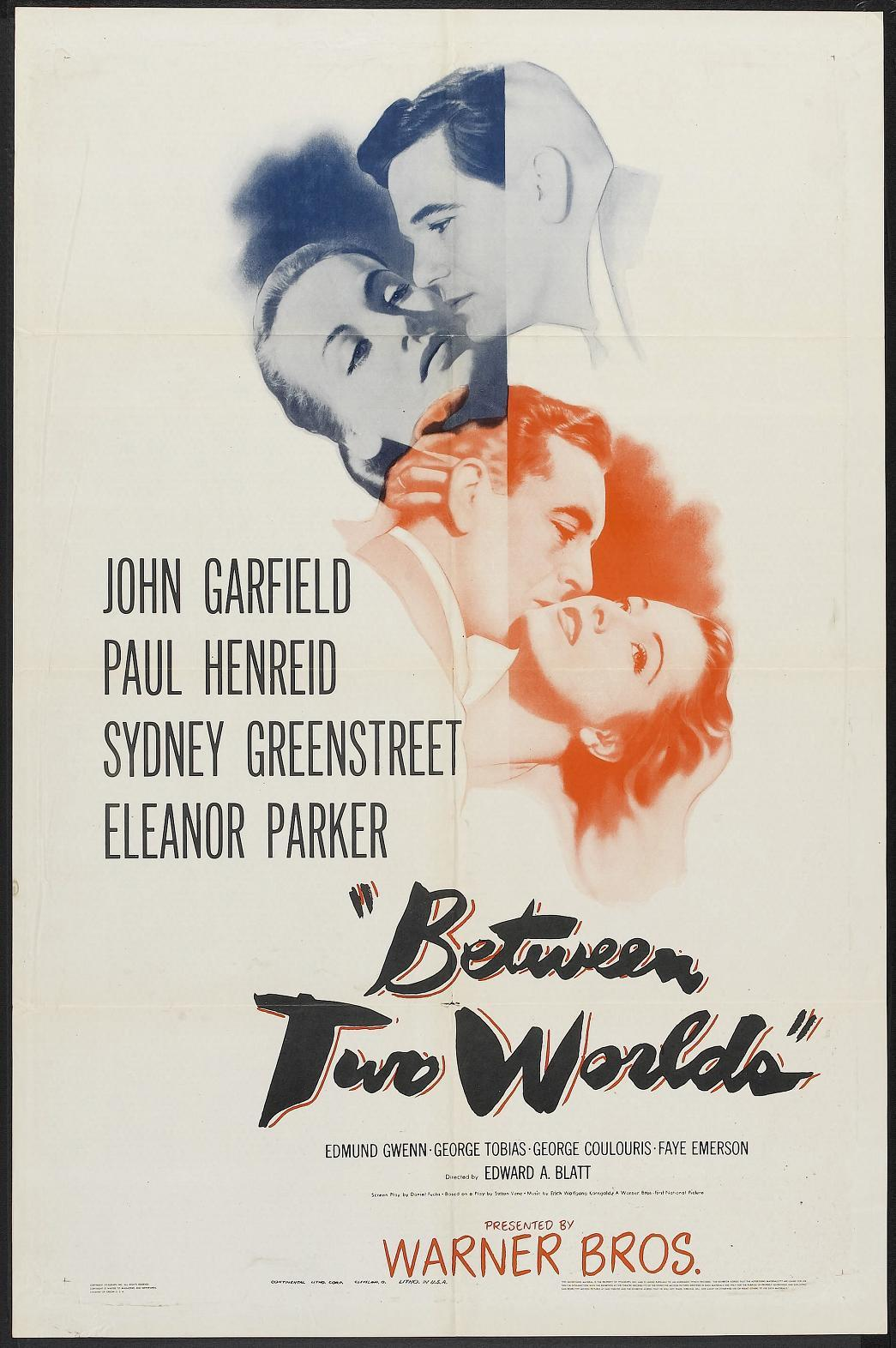 38004547 Edward A. Blatt   Between Two Worlds (1944)
