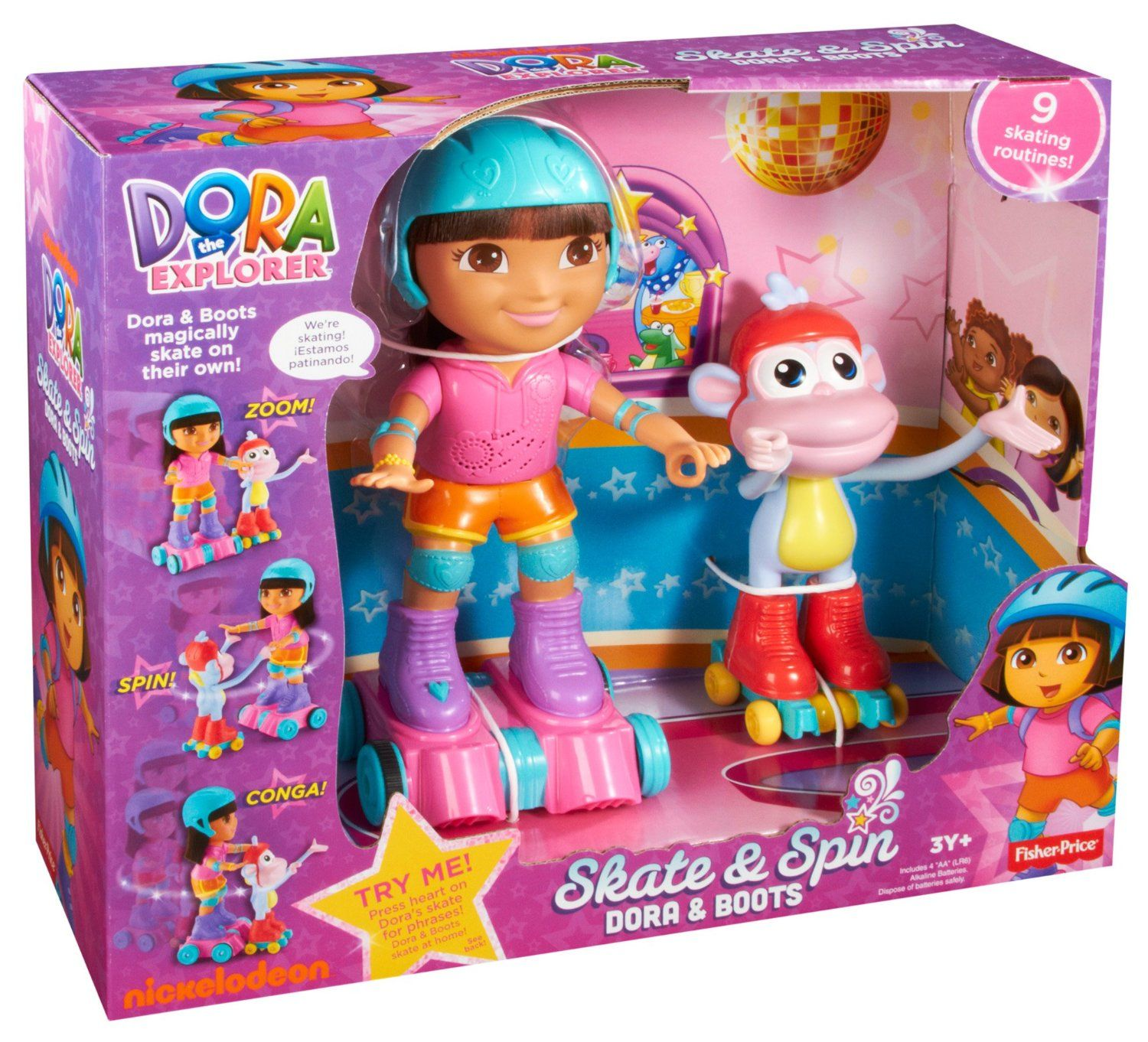 Fisher price dora la exploradora dora y botas patines vbf - Cocina dora la exploradora fisher price ...