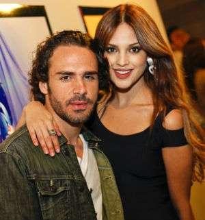 Eiza González y Pepe Díaz