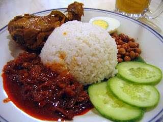 nasi lemak, nasi lemak klcc, nasi lemak yang istimewa